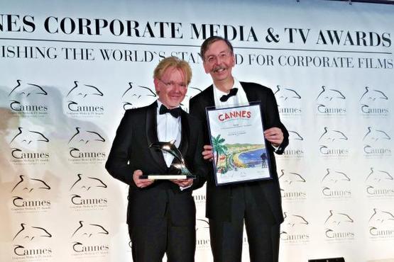 Verleihung Goldener Delphin in Cannes